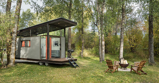 Functional Tiny House To Live Nature
