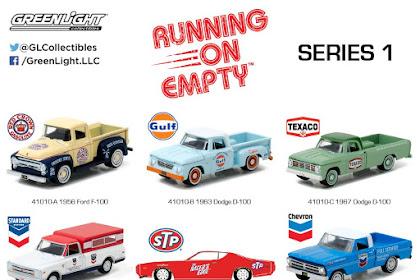 GreenLight Running On Empty Series 1 : Brand Baru GreenLight 1:64 Yang Rilis Januari 2017