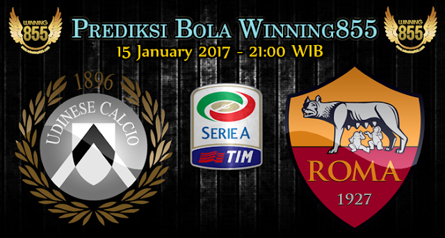Prediksi Skor Udinese vs AS Roma