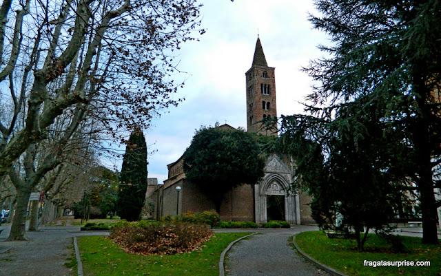 Basílica de São João Evangelista, em Ravena, Itália