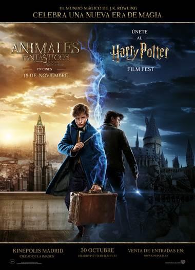 La primera edición del Harry Potter Film Fest llega a Madrid. Ver. Oír. Contar