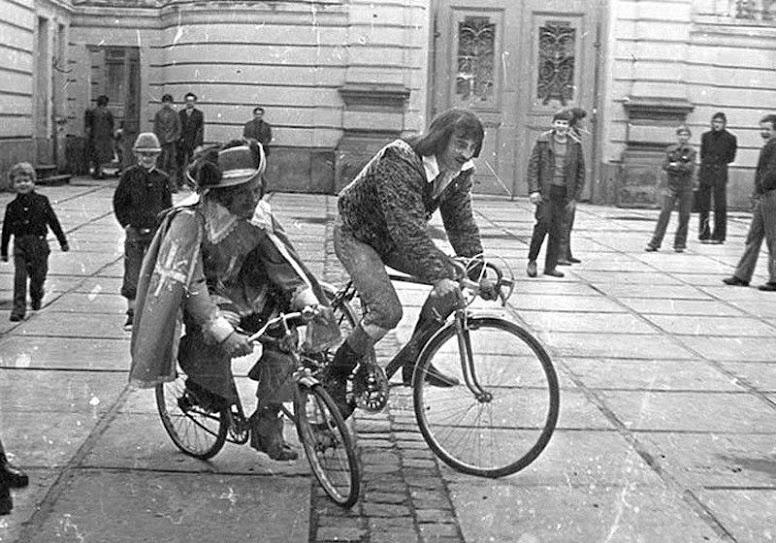 высота седла велосипеда