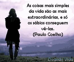 Vida e a simplicidade