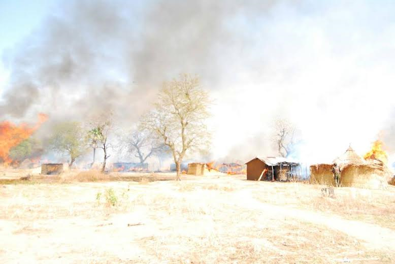 3 Photos: Troops clear Boko Haram camp in Sambisa Forest, rescue 41 hostages