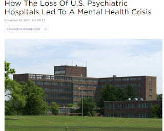 Lack of psychiatric beds not the problem. Lack of funds for outpatient services is.