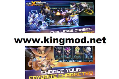 Guns X Zombies Unlimited Money Unlocked Apk v2.1 Terbaru