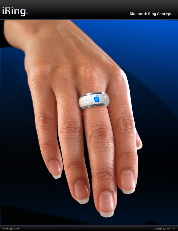Apple iRing The Bluetooth Ring Concept