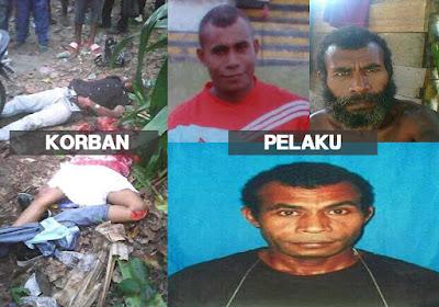 Aparat Polres Manokwari Sebarkan Foto Terduga Pelaku Pembunuhan 2 Mahasiswa UNIPA, Jika Warga Melihat Harap Laporkan Kepada Polisi