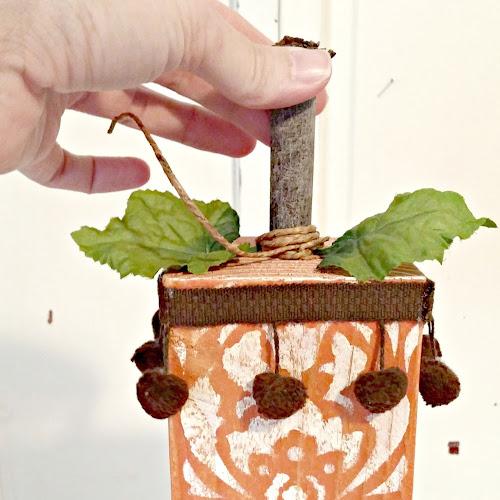 Trash to Treasure - Scrap Wood Boho Pumpkins