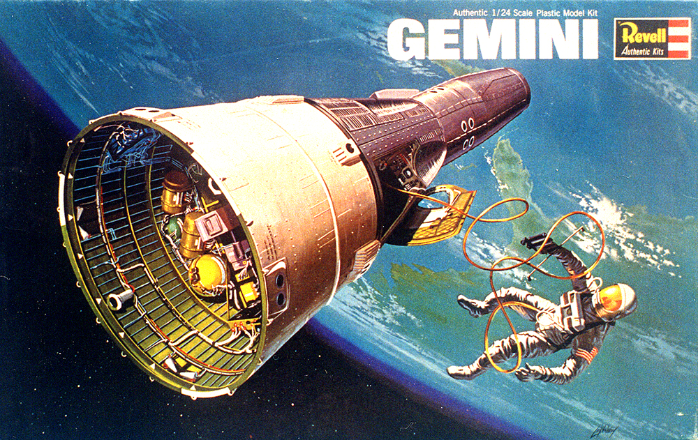 GEMINI 1:24 SCALE SPACECRAFT RETURNS WITH REVELL ~ Megamag 2