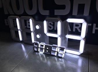 Hướng dẫn làm đồng hồ led treo tường 3D siêu lớn