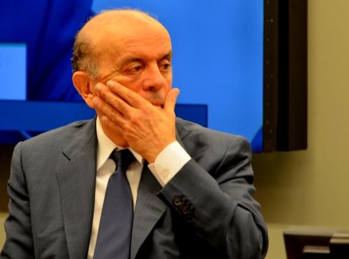 José Serra na audiência pública da Comissão Especial da Petrobras e da Exploração do Pré-Sal Foto Joaquim Dantas