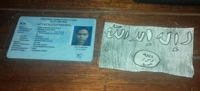 Identitas Pelaku Percobaan Bom Bunuh Diri di Medan
