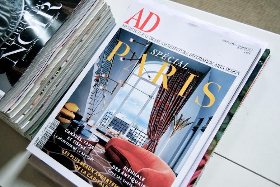 revista ad decoración
