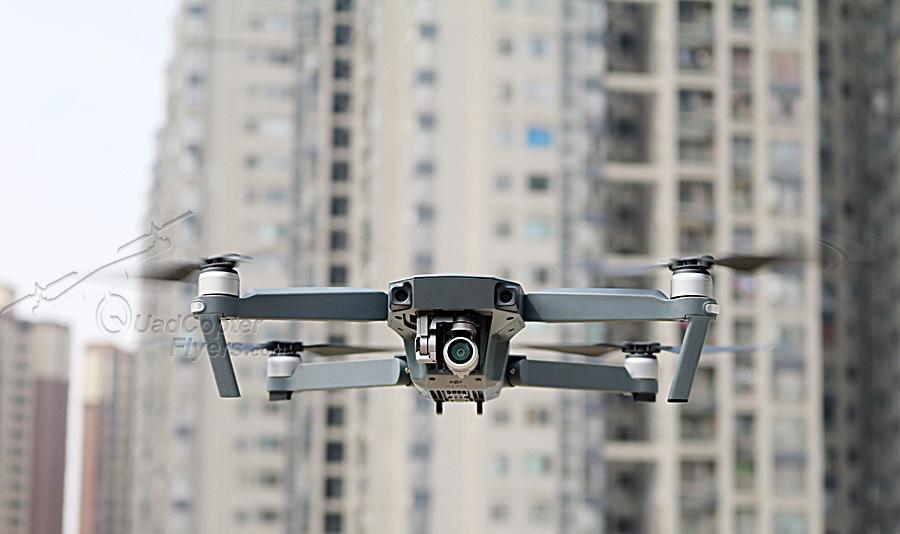 DJI Mavic Pro flying in the air