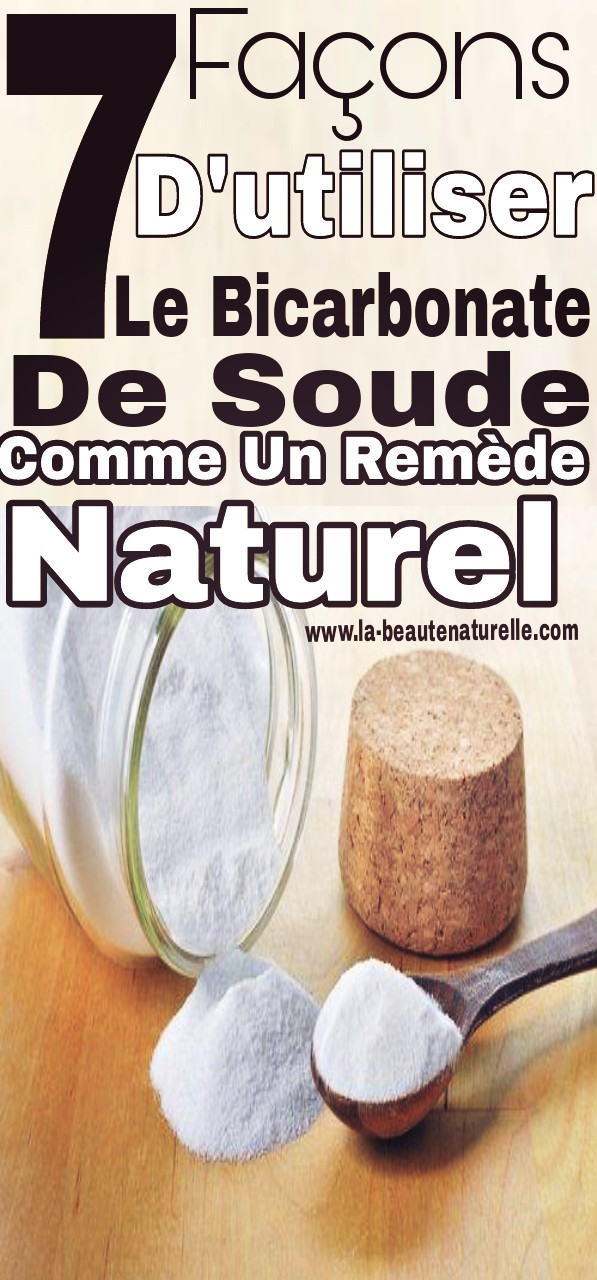 7 façons d'utiliser le bicarbonate de soude comme un remède naturel