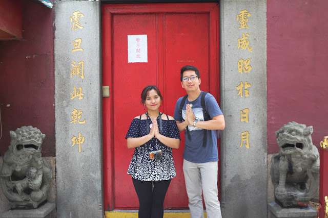 A-Ma temple in Macau, Jieza and Renz