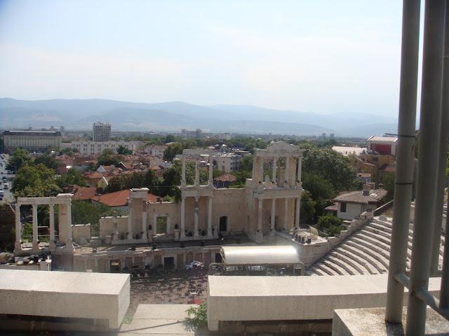 Filibe Eski Şehir'deki antik tiyatro