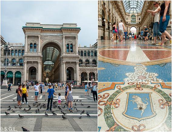 10+1 visitas imprescibdibles de Milan. Galerias Vitorio Emanuelle
