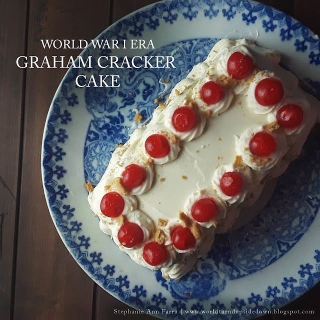Graham Cracker Cake WWI Recipe