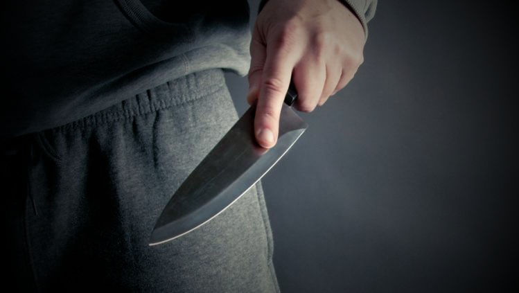 My wife threatened me with a knife