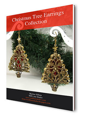 Now available! - Christmas Tree Earrings Collection
