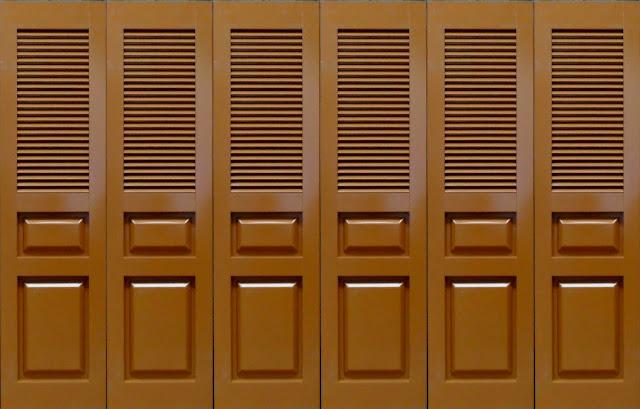 Gambar Pintu Garasi Powder Coating, Geser Rel Tikung Murah