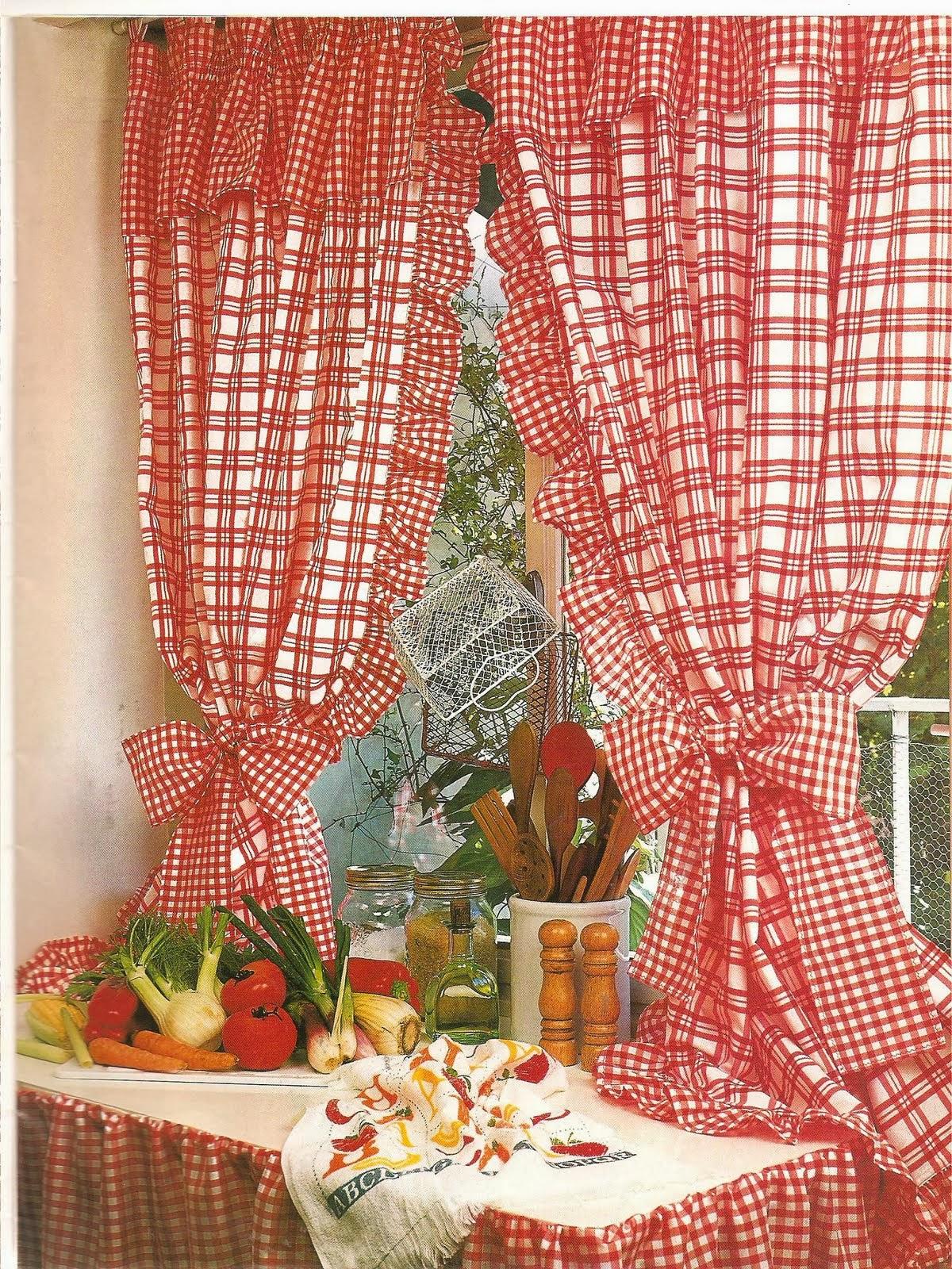 Como hacer cortinas revistas de manualidades gratis - Cortinas de goma ...