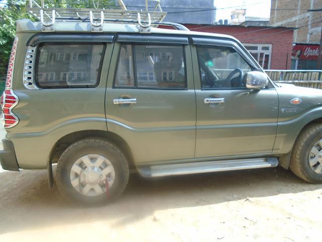 Mahindra Scorpio rental in Nepal