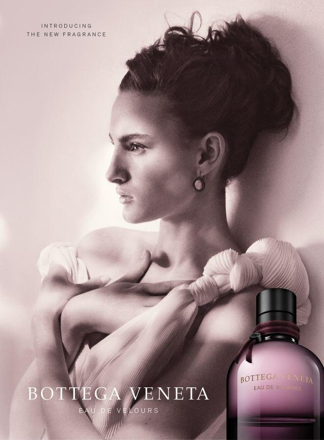 Reklama perfum Bottega Veneta Eau de Velours