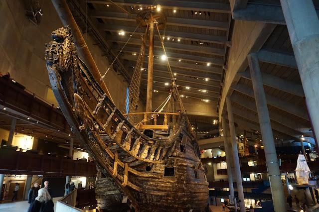 Vasa-laiva Vasa-museo