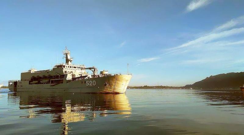 KRI Teluk Bintuni-520 produk PT DRU