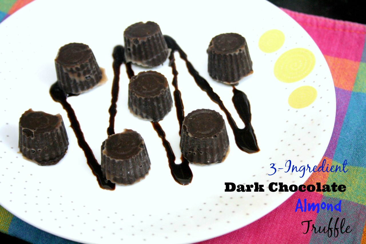 Ingredient Dark Chocolate Almond Truffle   Spice your Life