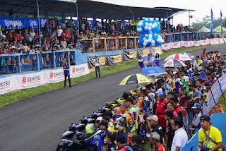 Sirkuit Bukit Peusar dipadati Penonton, Berikut Hasil Lengkap Yamaha Cup Race Tasikmalaya 2018