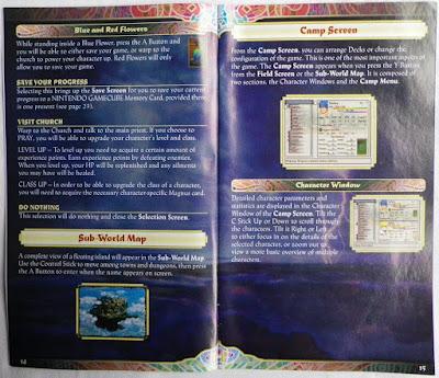Baten Kaitos - Las Alas Eternas y el Océano Perdido - Manual interior