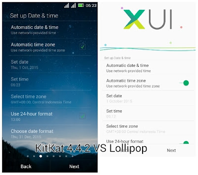 XUI Pada Android Lollipop 5.1 Infinix Hot Note