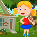 Games4king Play School Girl Rescue Walkthrough
