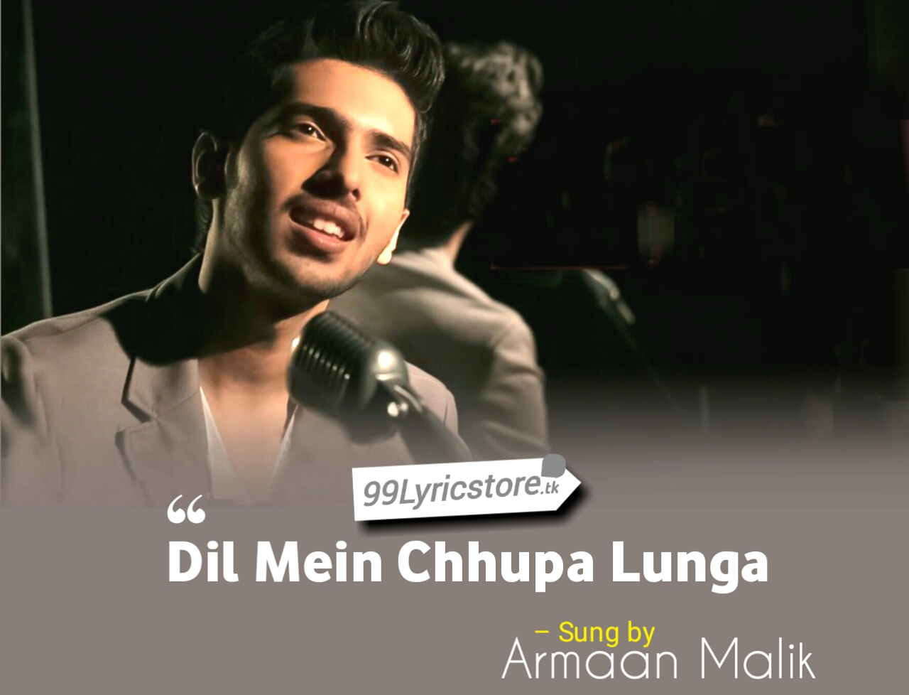 Tulsi Kumar Song Lyrics, Armaan Malik images, Armaan Malik Song Lyrics, Wajah Tum Ho Movie Songs Lyrics, Bollywood movie Song Lyrics, Hindi Song Lyrics, Meet Bros Song Lyrics