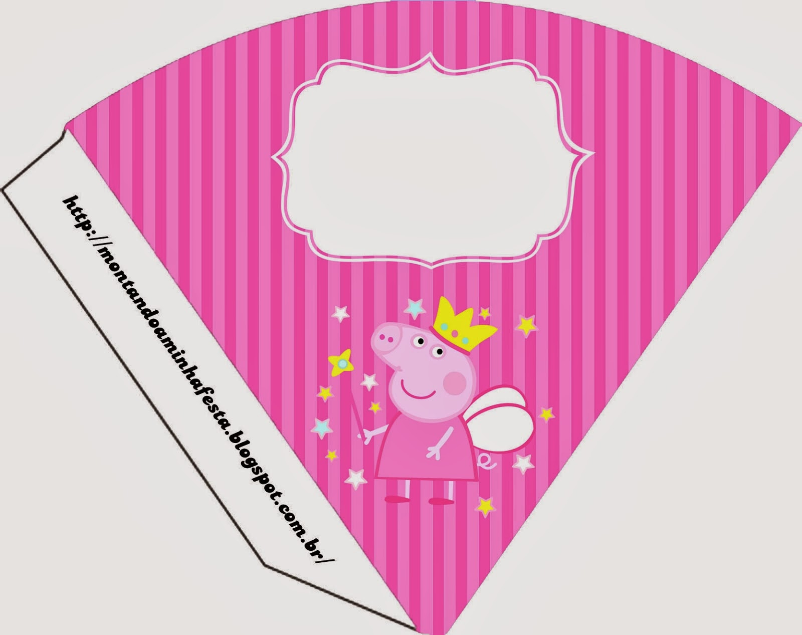 Peppa Pig Fairy: Invitations and Free Party Printables. | Is it ...