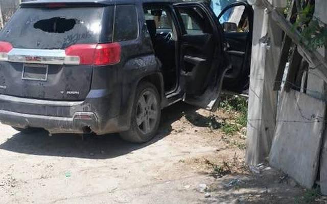 Elementos de la Fuerza Tamaulipas aseguran camioneta con cargadores y equipo táctico.