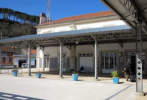 Tomar Station, Portugal.