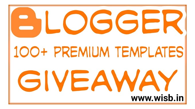 Giveaway Contest Participate and win Sora Ribbon Premium Blogger Templates.