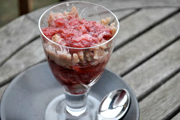 Vanilla Rice Pudding and Strawberry Parfait - Kim's Welcoming Kitchen