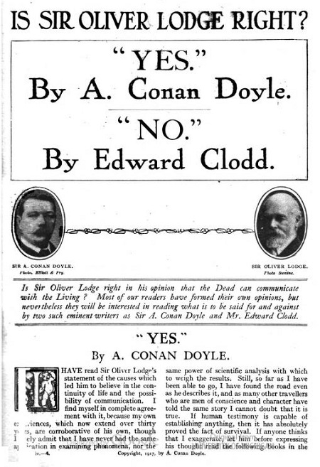 The Strand Magazine, July 1917, via archive.org