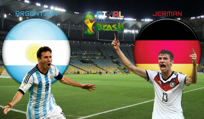 Jerman VS Argentina Final Piala Dunia 2014