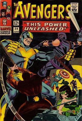 Avengers #29 Goliath vs Swordsman