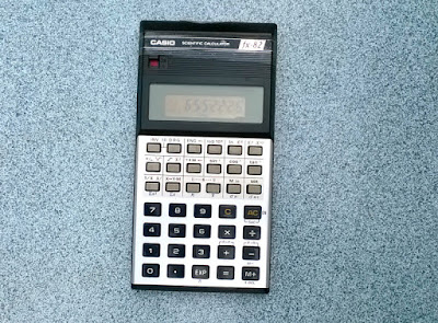 Casio scientific calculator. 30 years old.