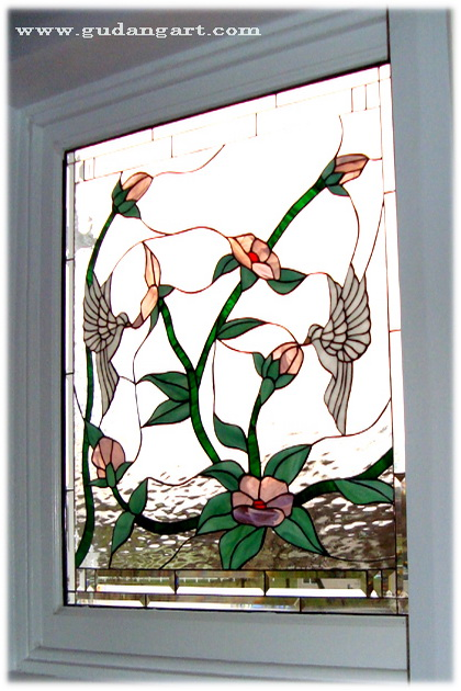 Stained Glass Flowers - Stained Glass Windows - Desain ...