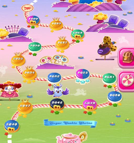 Candy Crush Saga level 5646-5660