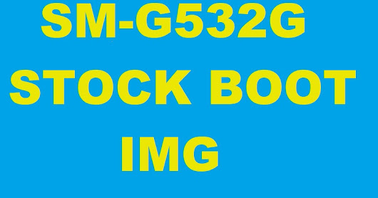 Stock Boot for SM-G532G 9-21-2017 SPL
